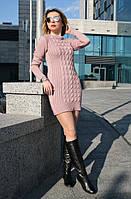Вязаное платье туника Лавита, в расцветках р.42-48