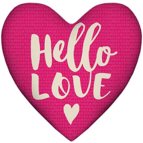 Подушка сердце Hello love 37x37 см (4PS_17L030)