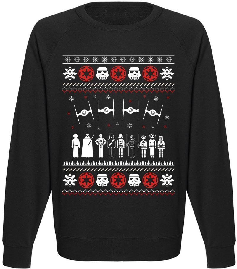 Свитшот Star Wars - Galaxy Adventure Inspired Christmas