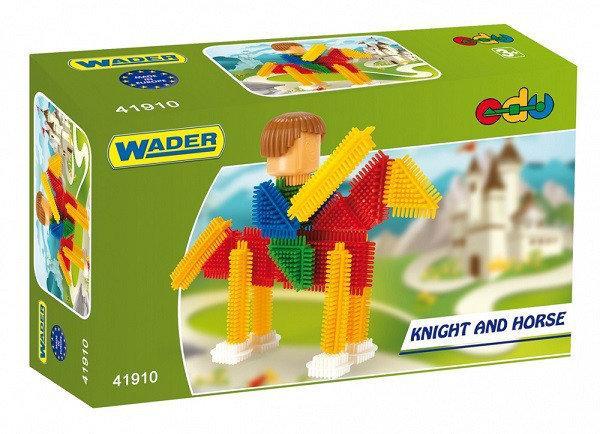 Конструктор Ежик Рыцарь на коне Wader (41910)