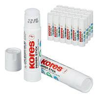 Клей-олівець Kores Paper Stick 20г, PVP, фото 1
