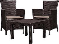 Садовая мебель 2 стула + стол, фото 1