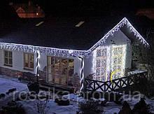 Новорічна гірлянда-бахрома хвиля 3 м. на 120 LED біла, жовта, синя, кольорова