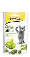 Витаминизированное лакомство для котов и кошек Gimcat GrasBits с травой 40 г