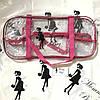 Набор из 3 прозрачных сумок в роддом Mommy Bag - S,L,XL - Розовые, фото 10