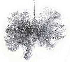Шар-снежинка большой (мишура) d-60  Новогодько