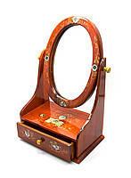 Шкатулка с зеркалом (29х19х11,5см),шкатулки из дерева,оригинальные подарки,товары для женщин
