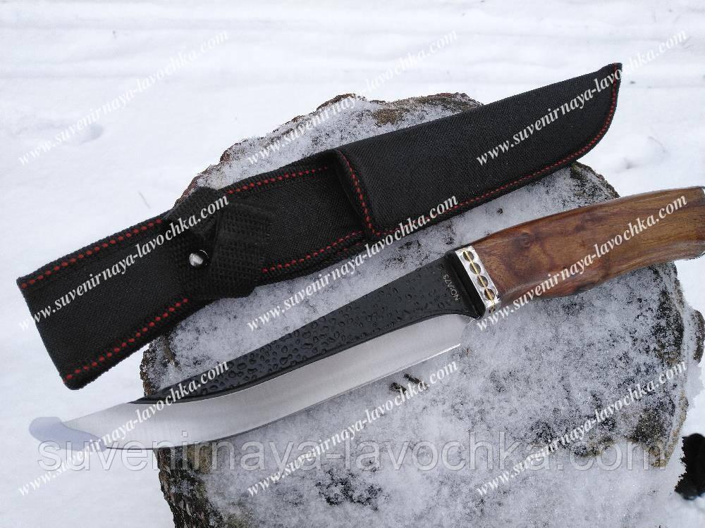 Нож охотничий A73 Классический фирменный нож для рыбалки, охоты и туризма. Прочный, надежный