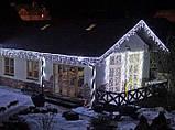 Гирлянда LED бахрома 120 светодиодов (мульти, белая, синяя, желтая, розовая) , фото 4