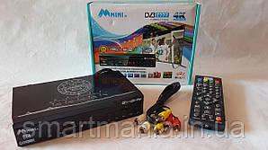 T2 тюнер цифровий ефірний AAMini+ DV3 T777 IPTV + YouTube + WIFI + 4k з екраном