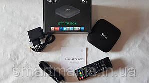 Смарт ТВ-приставка TANIX TX2 2Gb + 16G Android 6.0.1 Android TV box медіаплеєр для телевізора