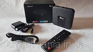 TV Box Android 7.1 TV Box Youit TX9 S905W 2Gb+16Gb 4k Wi-Fi 2.4g Смарт ТВ приставка медиаплеер для телевизора