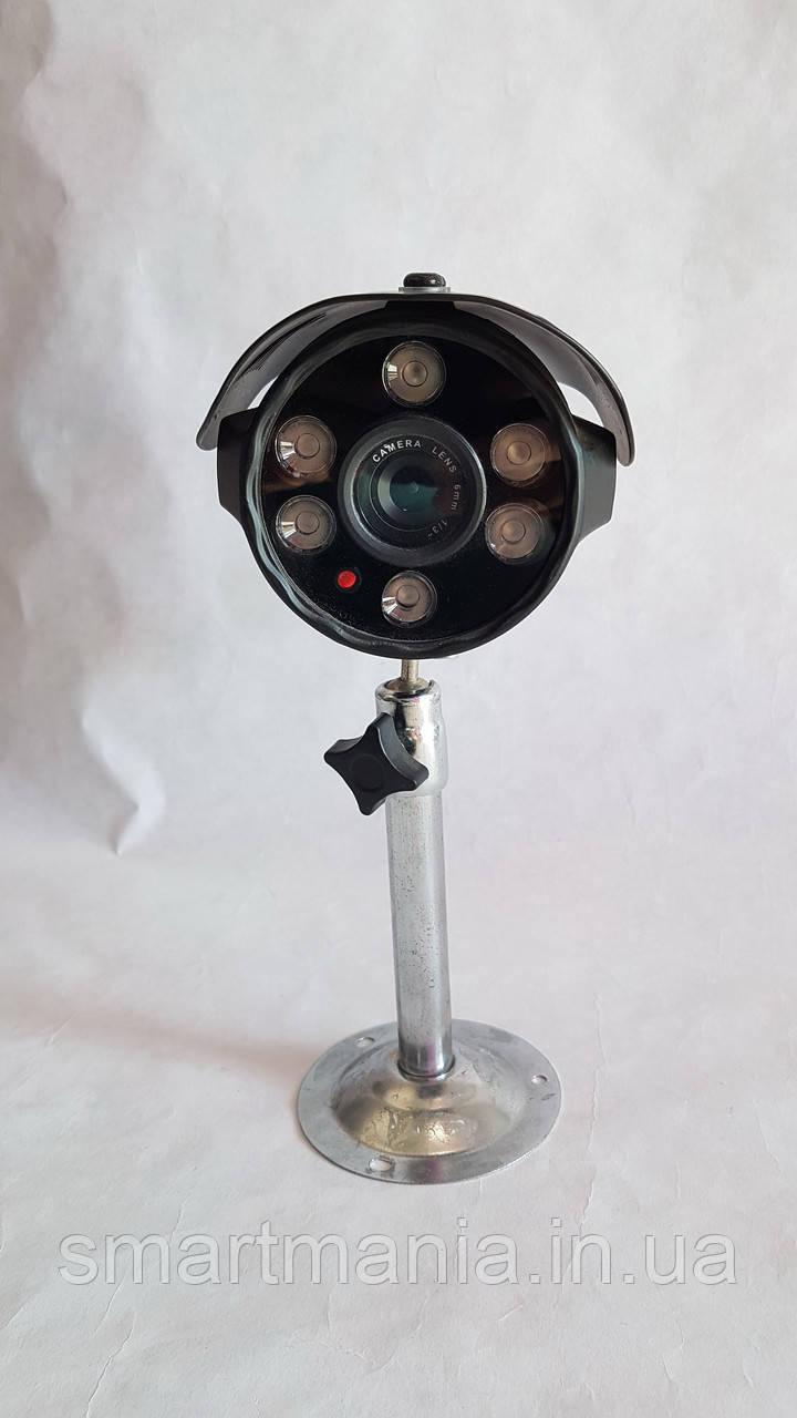 Аналоговая IR CCD камера для наружного видеонаблюдения ночная YS-9032CM 6MM