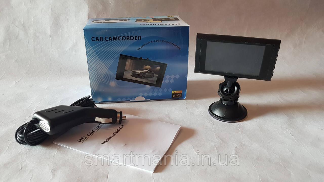 Автомобильный видеорегистратор  Full HD 1080P DVR камера-регистратор с микрофоном Dashcam Size car digit