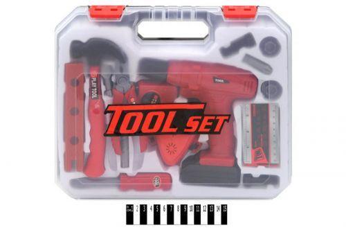 """Детский набор инструментов """"Tools Set"""" в чемодане"""