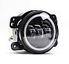 Противотуманные светодиодные фары 4 дюйма (90 mm) (LED) DL-J045F, Jeep Wrangler | авто | пара