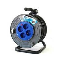 Электрический удлинитель Electraline 49035, 50 м, 3х1,5 мм