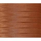 Косая бейка атласная, цвет ореховый, фото 2