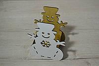 Корзина снеговик маленький