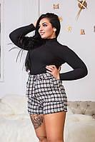 Женские шорты подчеркивающие фигуру большого размера