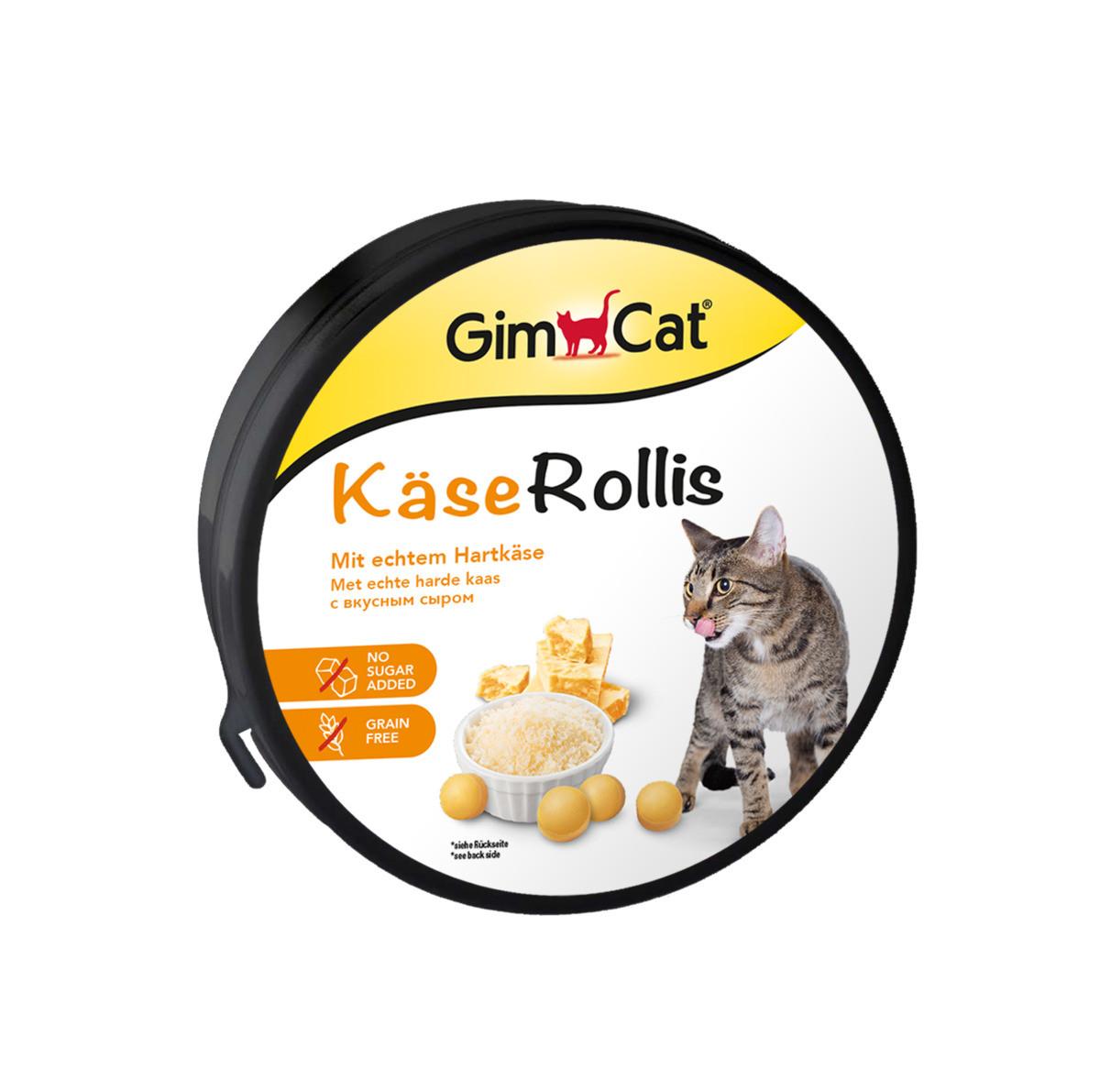 Витамины Gimborn GimCat Kase-Rollis общеукрепляющий комлекс 40 г