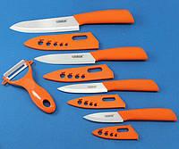 Набор керамических ножей CHIBUR (оранжевый) (NK101-00-05)