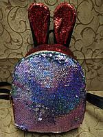 Рюкзаки искусств кожа с блестками И стеганая(только ОПТ)