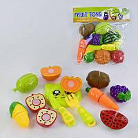 Набор фруктов и овощей на липучках 5023А-1