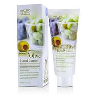 Увлажняющий крем для рук с муцином улитки 3W Clinic  Moisturizing Hand Cream Olive 100 мл