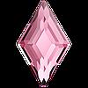 Кристаллы Swarovski для ногтей 2773 Light Rose 5х3 мм