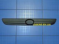 Зимняя заглушка решётки радиатора ZAZ Lanos верх матовая Fly  Утеплитель решётки ЗАЗ Ланос, фото 1