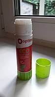 Клей-карандаш Optima, основа PVP, 36