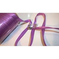 Косая бейка атласная, цвет светло-сиреневый, фото 1
