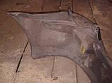 Бампер задний Mazda Premacy 1998-2005г.в. черный, фото 4
