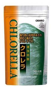 Хлорела органічна пр-во Японія ORIHIRO 200 мг 900 шт