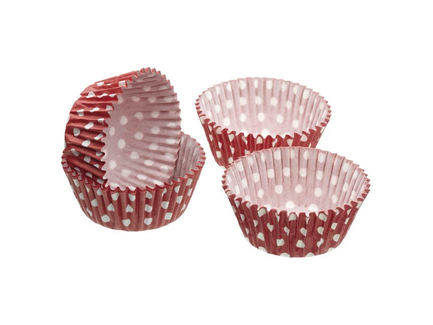 SDI Формы для кексов бумажные 7см 60 единиц Горошки