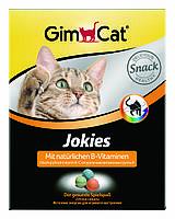 Витамины для котов Gimcat Jokies 400шт/520г с витамином B для улучшения обмена веществ, аппетита