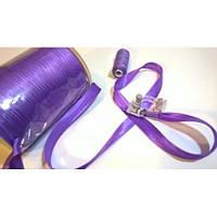 Косая бейка атласная, цвет фиолетовый