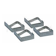KC Затиск для скатертини з нержавіючої сталі 4 одиниці