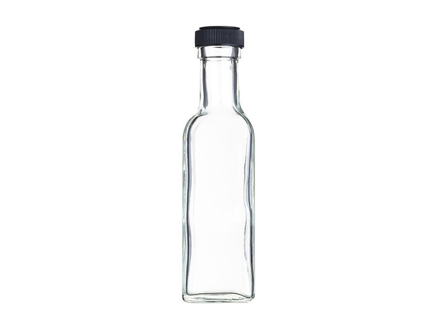 HM Бутылка стеклянная с герметичной крышкой 100 мл