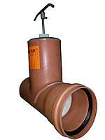 Шиберная задвижка д 110мм (канализационная)...