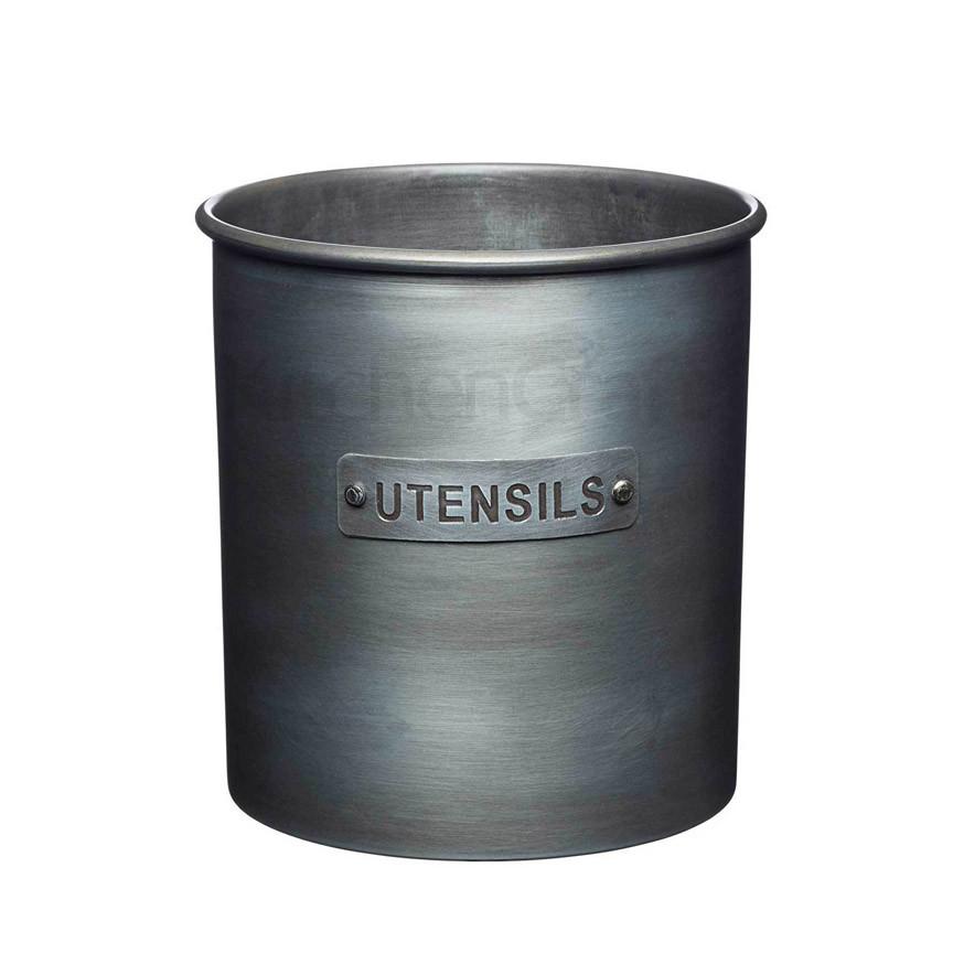 IK Емкость для кухонных принадлежностей металлическая 13,5x14,5 см