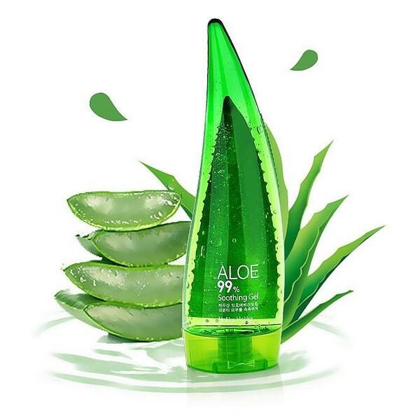 Успокаивающий и увлажняющий гель на основе алоэ  Holika Holika Aloe 99% Soothing Gel 55 мл