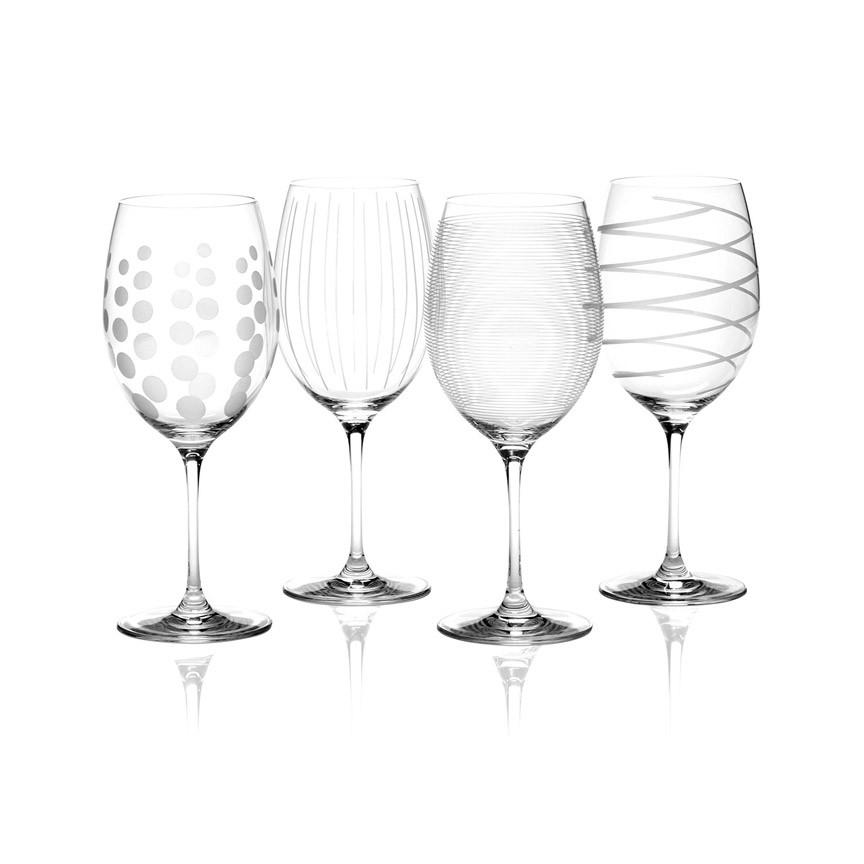 Mikasa Cheers Набор бокалов для красного вина из хрусталя 4 ед