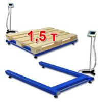Весы паллетные 1500 кг, фото 1