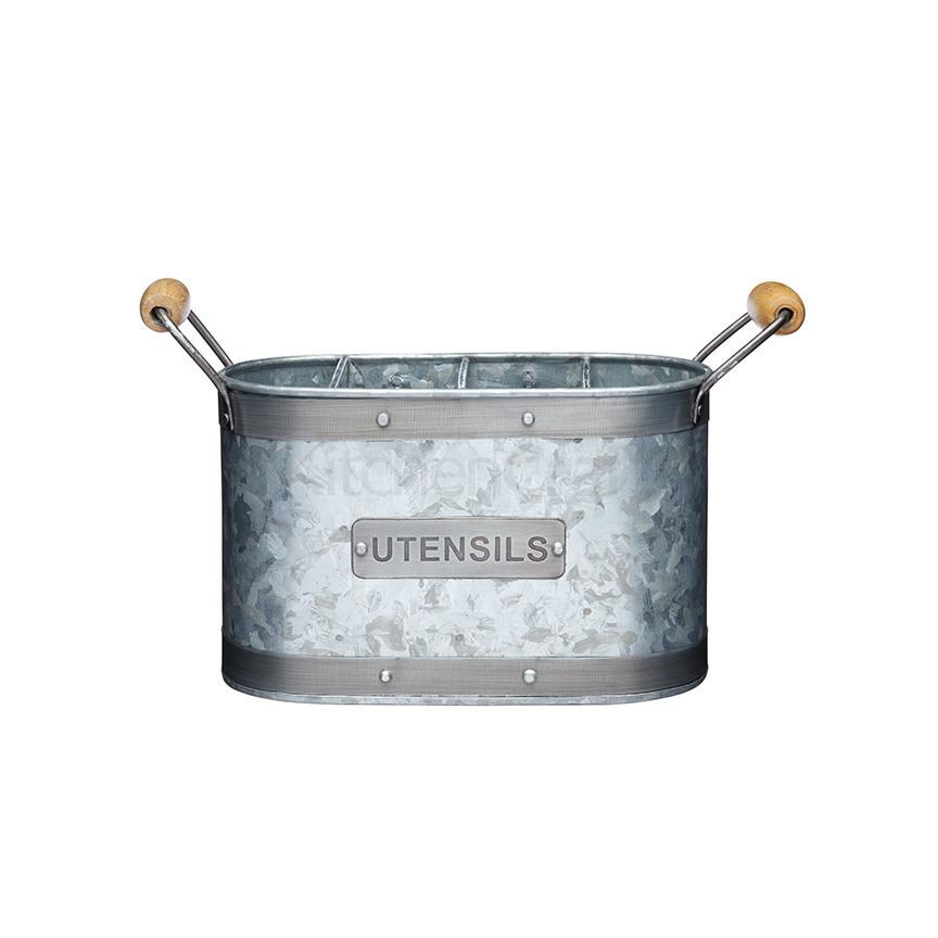 IK Емкость  для кухонных принадлежностей металлическая 28*11*17 см
