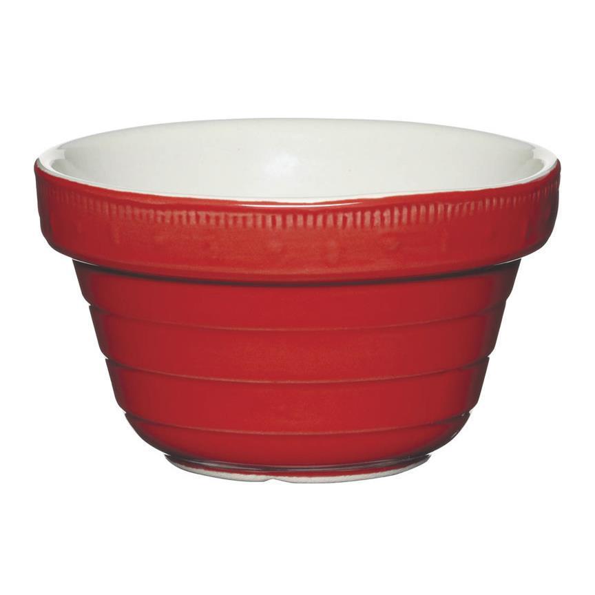 HM Миска керамическая красная 1,15 л