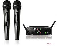 AKG WMS40Mini2Voc – Вокальная беспроводная радио система WMS40 Mini 2 Vocal Set, фото 1