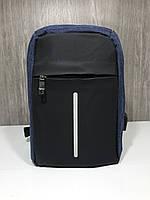 Рюкзак антивор однолямочный bobby mini сумка через плечо бананка с USB +выход под наушники
