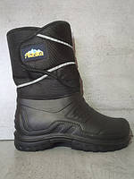 Чоловічі зимові чоботи комбіновані Аляска ТСА р. 41-45. Мужские резиновые  зимние сапоги f1b23be748624